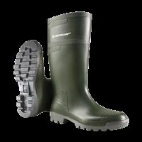Dunlop Hobby PVC W486711 Groen Knielaarzen Heren