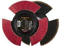 Rhodius VISION SPEED tandveerring 125 x 22,23 - P120 Rhodius 210647 Diameter 125 mm 1 stuks