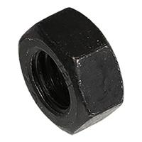 hoenderdaal Moer zwart DIN934 M8 Blister(15)