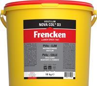 Frencken Houtlijm NovaCol - D3 - Wit - 10kg
