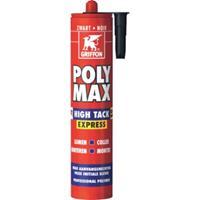 griffon Polymax hightack express zwart 435gr