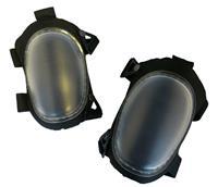 ToolPack 360.173 Basalt Solide kniebeschermers - EVA, TPU&Polyester