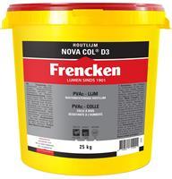 Frencken Houtlijm NovaCol - D3 - Wit - 25kg
