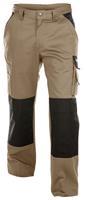 Dassy broek boston beige-zwart 44 (245g-m2)
