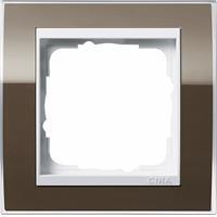 GIRA 0211763 - Frame 1-gang brown 0211763