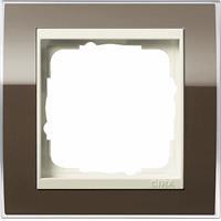 GIRA 0211761 - Frame 1-gang brown 0211761
