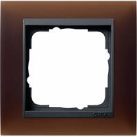 GIRA 021113 - Frame 1-gang brown 021113