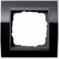 GIRA 0211738 - Frame 1-gang black 0211738