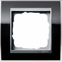 GIRA 0211736 - Frame 1-gang black 0211736