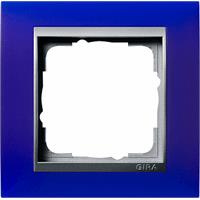 GIRA 021193 - Frame 1-gang blue 021193