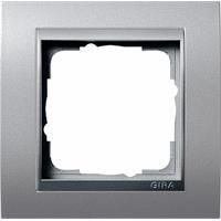 GIRA 021136 - Frame 1-gang aluminium 021136