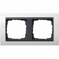 GIRA 0212808 - Frame 2-gang white 0212808