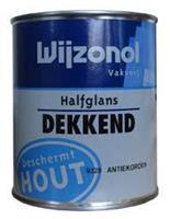 2012 dekkend halfglans 9138 mergelwit 750 ml