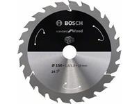 Bosch Accessories 2608837677 Cirkelzaagblad 160 x 20 mm 1 stuks