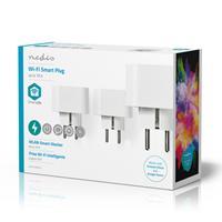 Nedis WIFIP130FWT3 Wi-fi Smart Plug Schuko Type F 10 A 3-pack