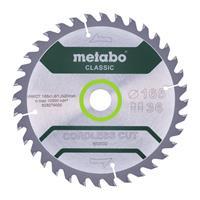 Metabo 628279000 HW/CT Cirkelzaagblad - 165 x 20 x 36T