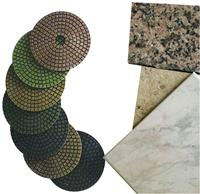 Westfalia Polijstschijf 125 mm voor donkere stenen