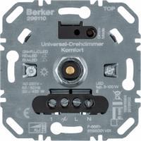 Berker universele draaidimmer comfort LED 3-100 Watt (296110)