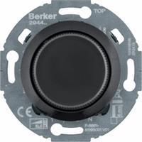 Berker universele draaidimmer comfort LED 3-100 W 1930 zwart (294411)