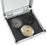 Westfalia Zaagbladset, 6-delig in aluminium box