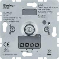 Berker draai-potentiometer DALI met voeding Tunable White (2998)