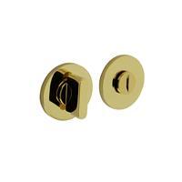 Intersteel Olivari rozet toilet-/badkamersluiting rond messing titaan PVD