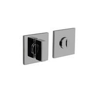 Intersteel Olivari rozet toilet-/badkamersluiting vierkant chroom