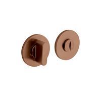 Intersteel Olivari rozet toilet-/badkamersluiting rond koper mat titaan PVD