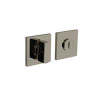 Intersteel Olivari rozet toilet-/badkamersluiting vierkant nikkel titaan PVD