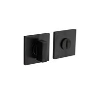 Intersteel Olivari rozet toilet-/badkamersluiting vierkant antraciet mat titaan PVD