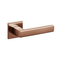 Intersteel Olivari deurkruk Planet Q op rozet koper mat titaan PVD