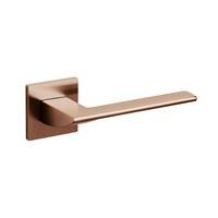 Intersteel Olivari deurkruk Trend op rozet koper mat titaan PVD