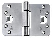 BSW veiligheidsscharnier Protect 818, afgeronde hoek, verzinkt, 89x127mm, SKG**