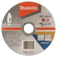 Makita B-46931 Doorslijpschijf 125x1,6mm RVS