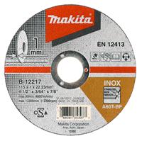 Makita Doorslijpschijf 115x1,6 mm RVS B-45755