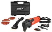 Makita M9800KX4 200W Multitool met Accessoire set in Koffer