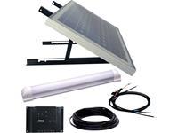 phaesun SUPER ILLU ONE  600300 Solarsysteem 30 Wp Incl. aansluitkabel, Incl. laadregelaar, Met ledlamp