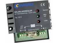 18310 Solar laadregelaar PWM 12 V, 24 V 6 A