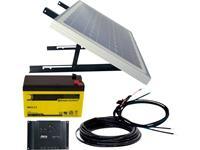 phaesun Energy Generation Kit Solar Rise Nine 1.0  600299 Solarsysteem 10 Wp Incl. accu, Incl. aansluitkabel, Incl. laadregelaar