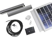 sunset PX 55 Caravan  10550 Solarset 55 Wp Incl. aansluitkabel, Incl. laadregelaar