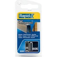 rapid 40109527 Nieten - No. 606 - Gegalvaniseerd - 12mm (1200st)
