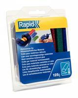 rapid 40108462 Lijmpatroon - Rood/Groen/Blauw - 94mm (16st)