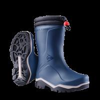 Dunlop K354061 Blizzard Kinderlaars gevoerd PVC Blauw/Grijs/Zwart - Maat 33
