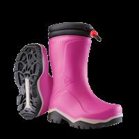 Dunlop K374061 Blizzard Kinderlaars gevoerd PVC Roze/Grijs/Zwart - Maat 27