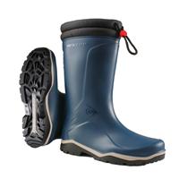 Dunlop K454061 Blizzard Gevoerde Winterlaars PVC Blauw - Maat 46