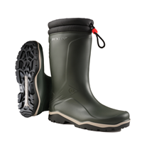 Dunlop K486061 Blizzard Gevoerde Winterlaars PVC Groen - Maat 39