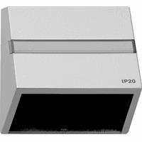 GIRA TX44 datakap klauwbevestiging aluminium