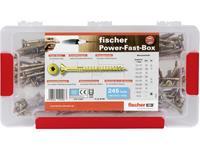 fischer Power-Fast Box NV (245) 542318 Verzonken schroeven 1 set(s)