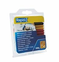 rapid 5001363 Lijmpatronen - Gekleurd - 7x94mm (36st)
