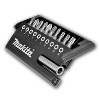 Makita D-30651 11 delige magnetische bitset
